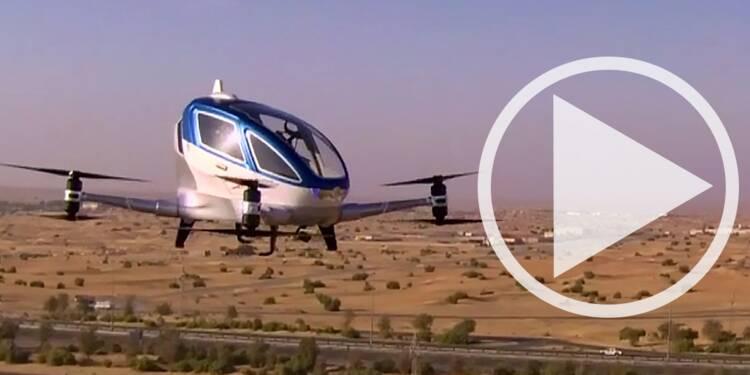 Dubaï rêve de lancer le premier service de taxi volant sans pilote dès cet été...