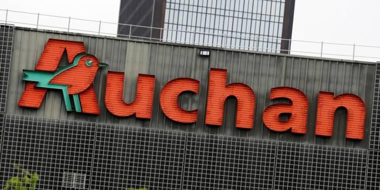 Auchan, plombé par la Russie, stabilise ses ventes en France