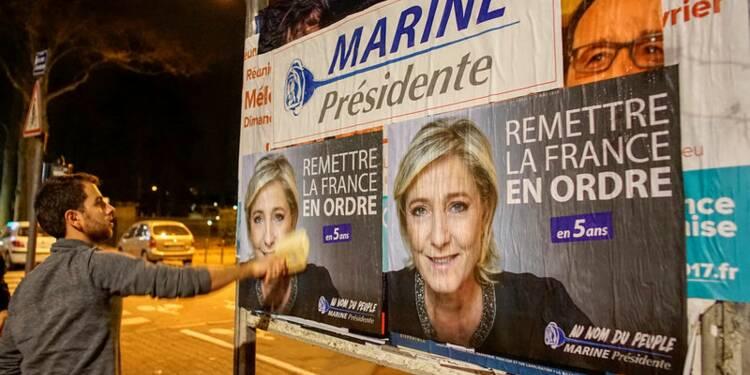 Le Pen (26,5%) devance Macron (25%) et Fillon (19%), selon un sondage Ifop