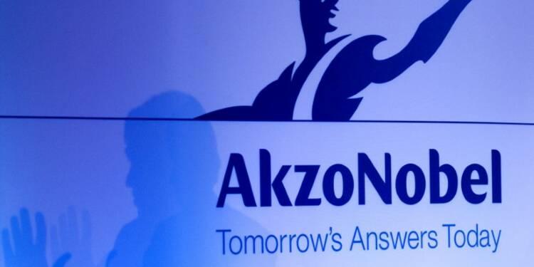 La livre pèse sur le chiffre d'affaires d'Akzo Nobel