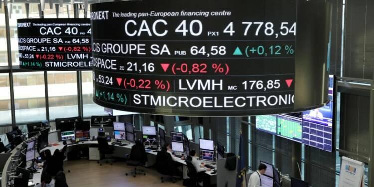 Les Bourses européennes évoluent en légère hausse à la mi-séance