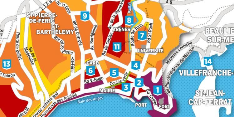 Immobilier : la carte des prix à Nice