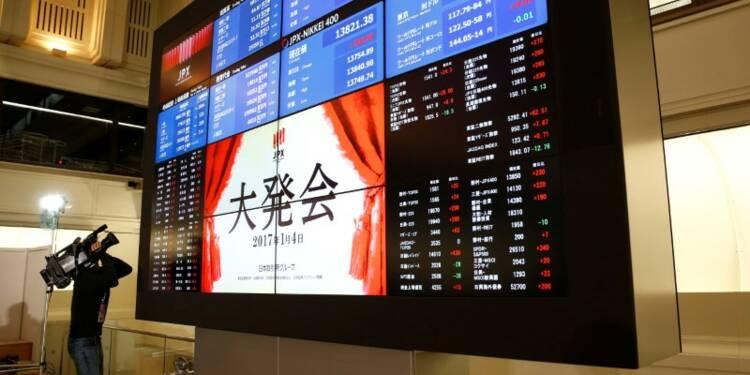 Tokyo finit en baisse avec le yen