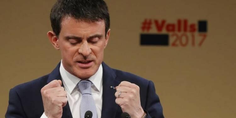 Des proches de Valls préparent une fronde anti-Hamon