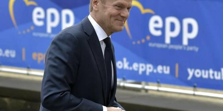 Donald Tusk réélu à la présidence du Conseil européen
