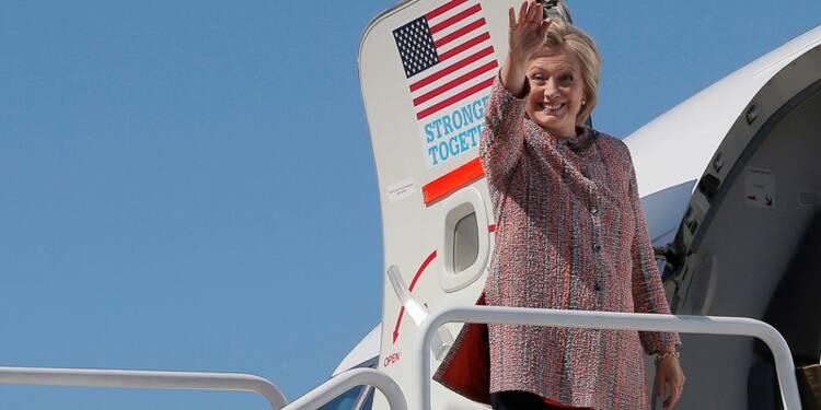 Hillary Clinton de retour en campagne après sa pneumonie
