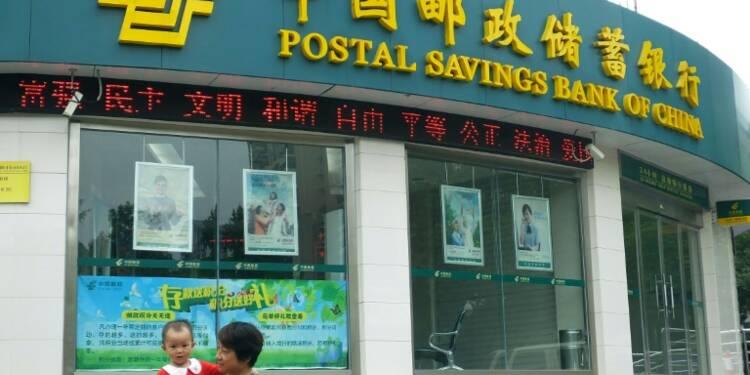 Début de cotation timide à Hong Kong pour la banque postale chinoise