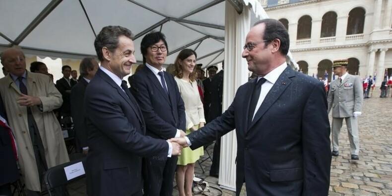 Hollande et Sarkozy ensemble en Israël aux obsèques de Peres