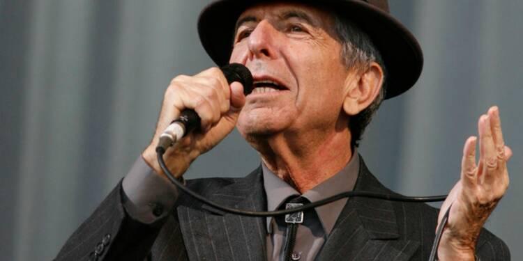 Décès du chanteur Leonard Cohen à l'âge de 82 ans