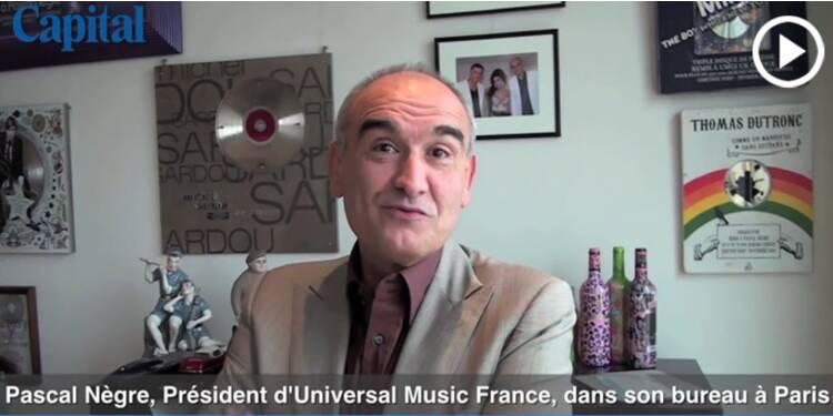 Le bureau de... Pascal Nègre, président d'Universal Music France