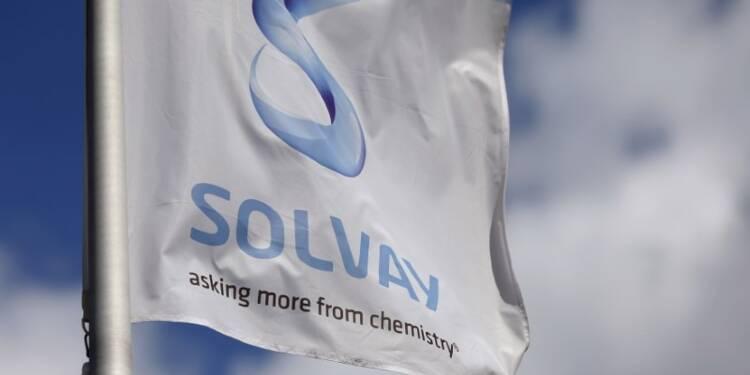 Solvay prévoit une croissance d'environ 5% de son bénéfice 2017