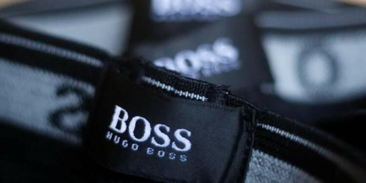 Hugo Boss rassure sur la Chine et ses coûts, l'action monte