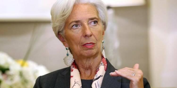 Christine Lagarde met en garde contre le projet du FN