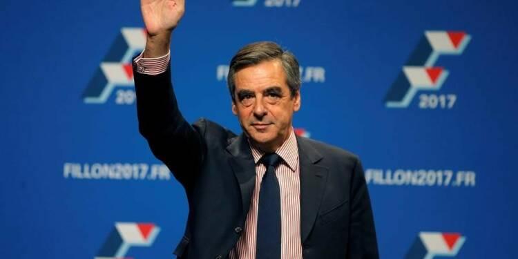 Poussée de Fillon pour la primaire à droite selon l'enquête Odoxa