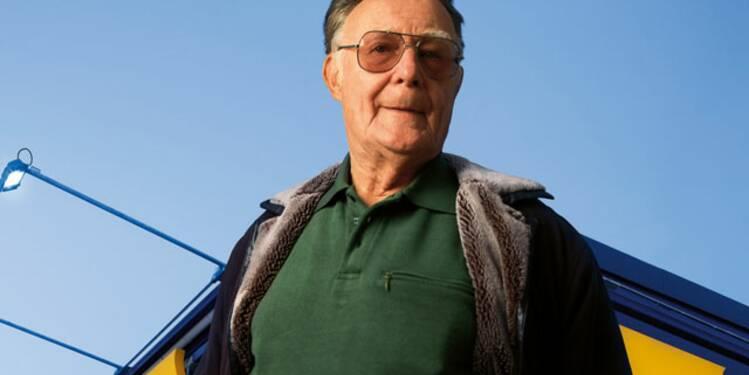 Ingvar Kamprad (né en 1926), Ikea : le sorcier suédois inventeur du mobilier low-cost