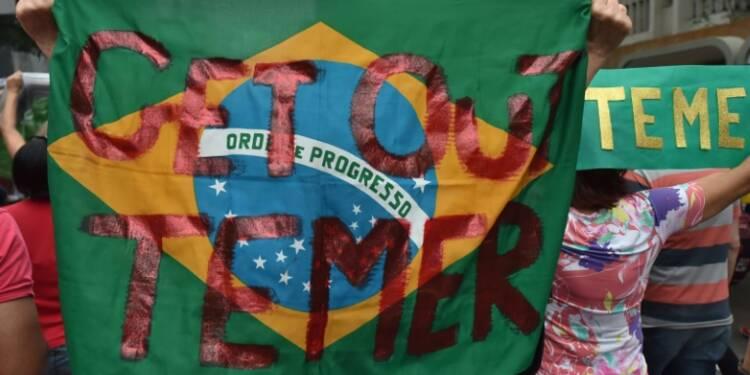 Brésil: le plan d'austérité du président Temer crée des tensions