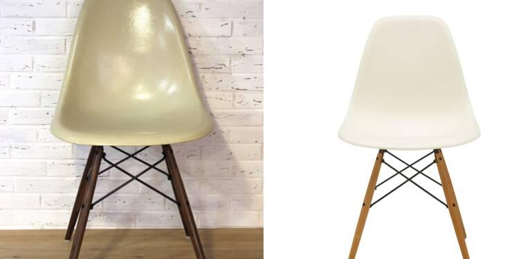 la chaise eames une ic ne du 20 me si cle toujours aussi pris e. Black Bedroom Furniture Sets. Home Design Ideas