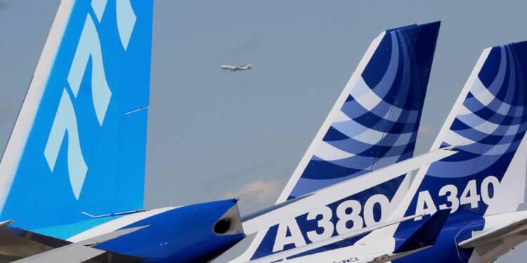 Boeing et Airbus occupent tous les créneaux