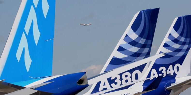 Salon du Bourget 2015  : Boeing et Airbus empilent les commandes dès l'ouverture