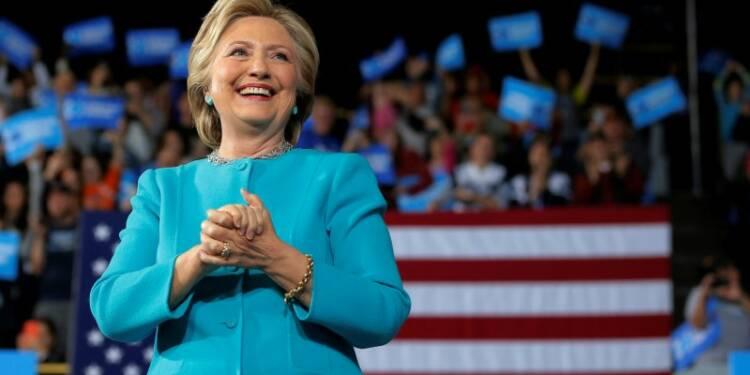 Les sondages favorables à Clinton à la veille du scrutin