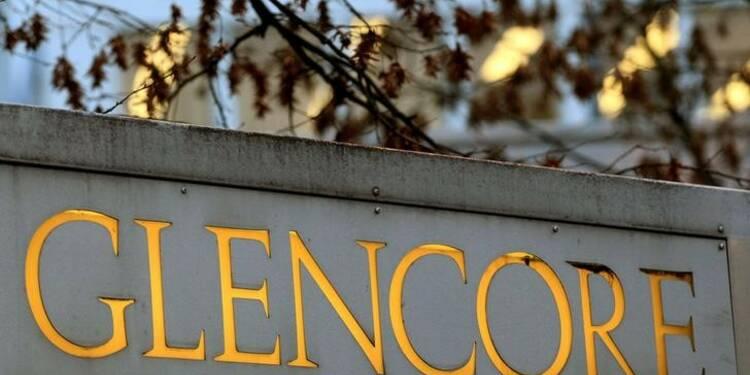 Glencore confirme ses objectifs de production 2017