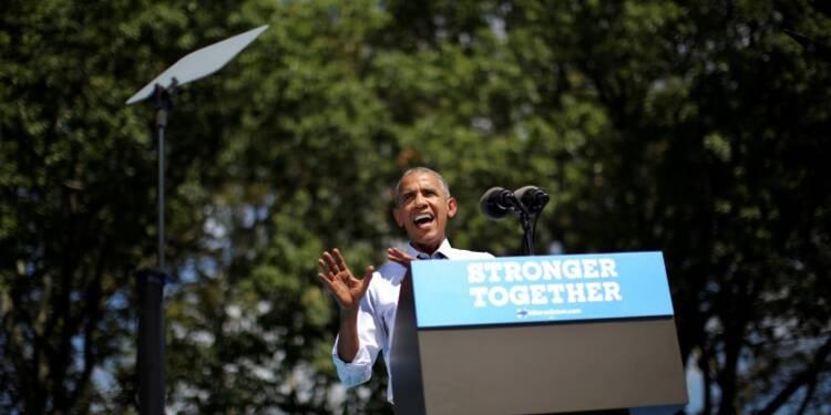 Obama refuse à Trump le rôle de défenseur des travailleurs