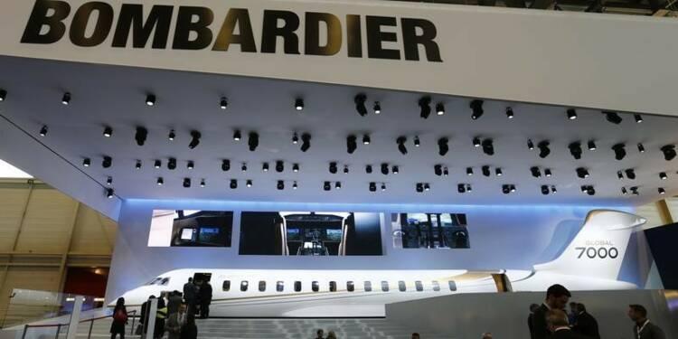 Bombardier réduit ses pertes, voit une amélioration des marges