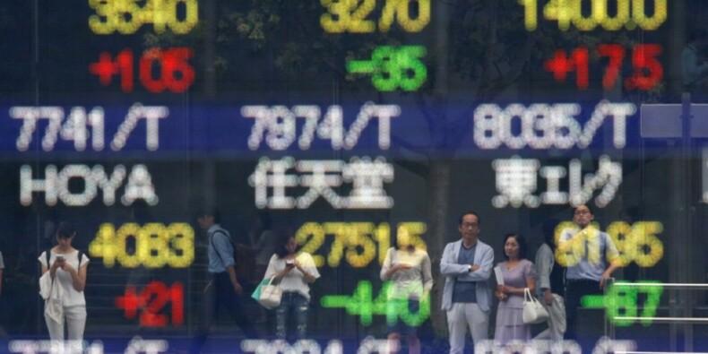 La Bourse de Tokyo cède 0,12% mais gagne près de 6% en octobre