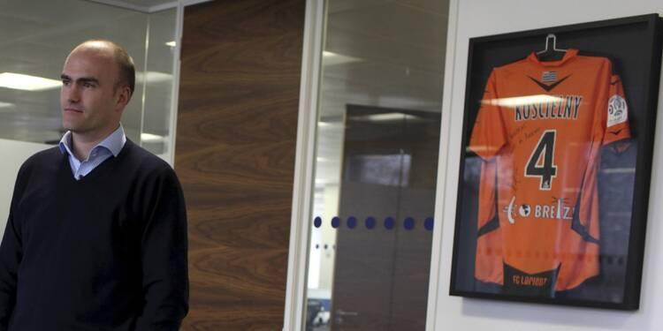 Loïc Féry, président du FC Lorient : à la City aussi, il fait moins d'étincelles