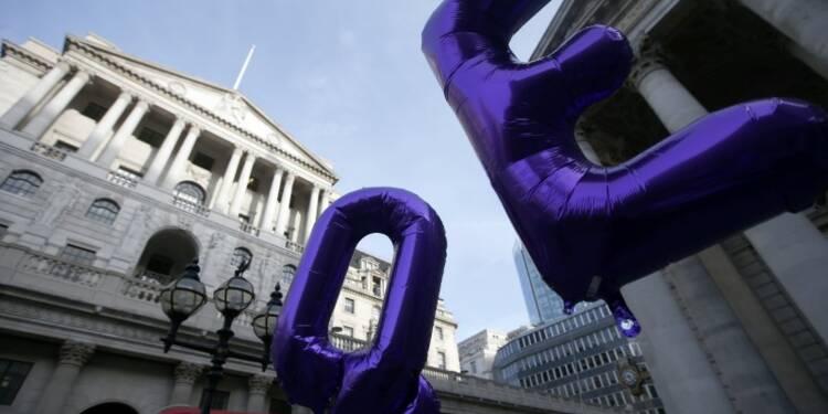 La Banque d'Angleterre optimiste sur la croissance, divisée sur l'inflation