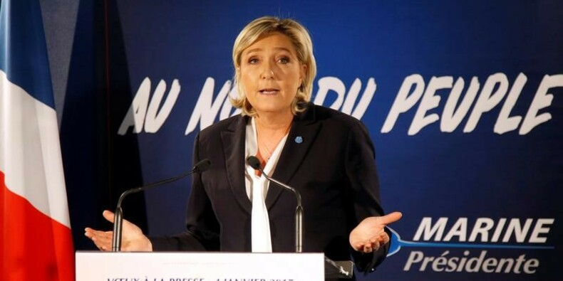 Marine Le Pen songe à un retour à l'écu