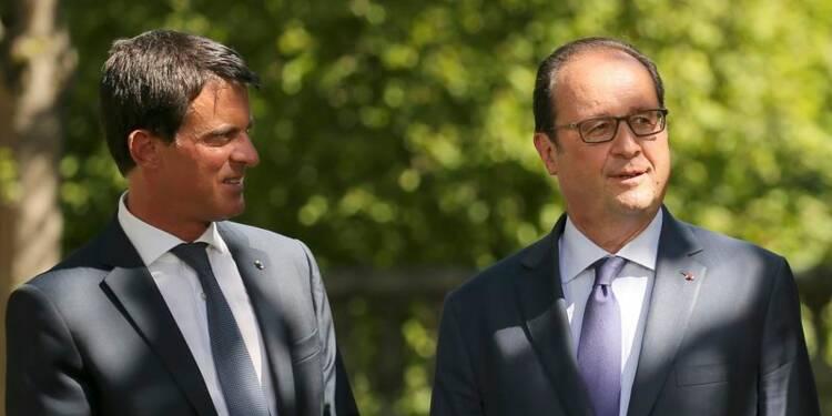 Sondage IFOP: Hollande perd un point, Valls en regagne trois