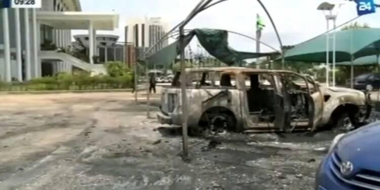 L'armée déployée à Libreville, des opposants cernés dans leur QG