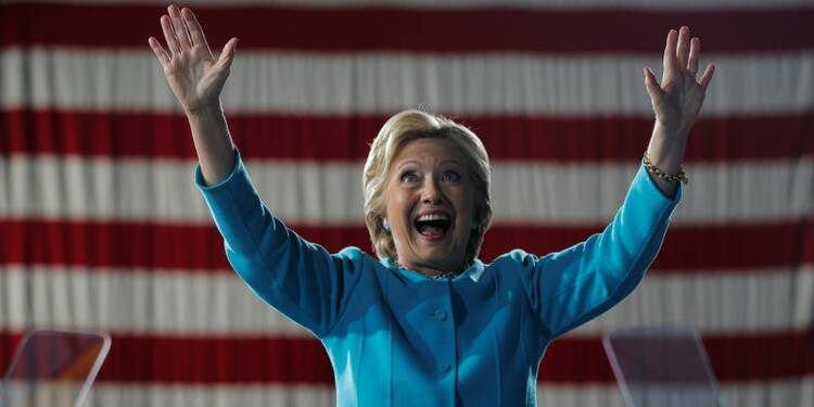 Hillary Clinton, adversaire préférée de Wall Street