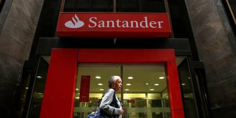 Banco Santander annonce un bénéfice 2016 en hausse de 4%