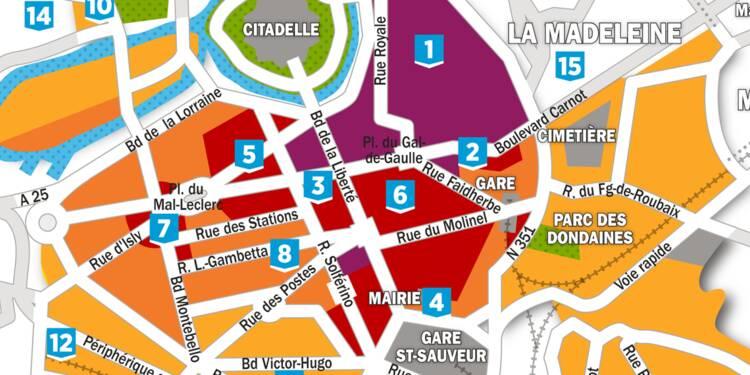Immobilier : la carte des prix à Lille