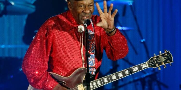 A 90 ans, Chuck Berry annonce un nouvel album