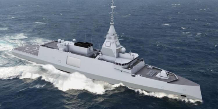 La nouvelle frégate de la marine française est enfin dévoilée