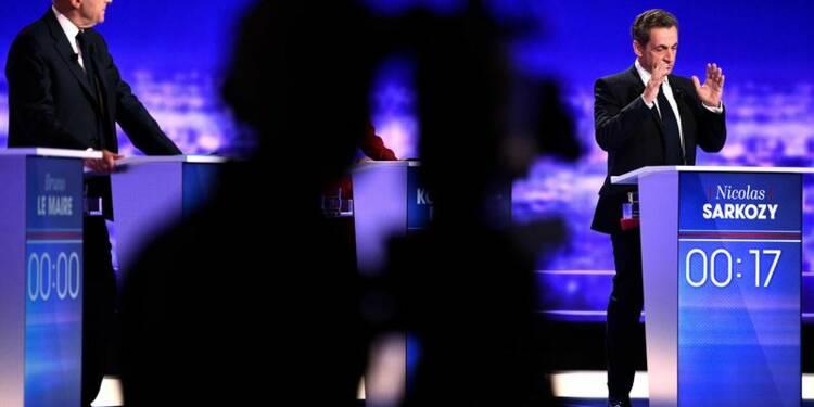 Sarkozy réduit l'écart avec Juppé, selon un sondage Ifop