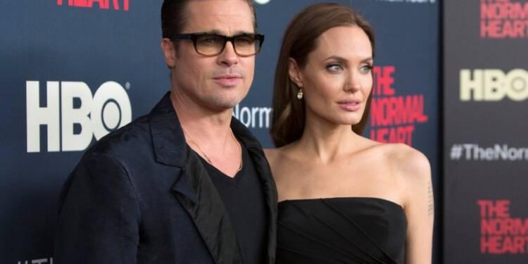 Angelina Jolie demande le divorce d'avec Brad Pitt