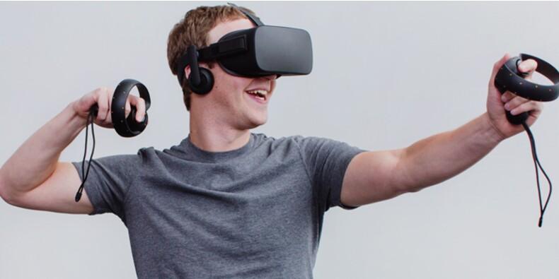 Réalité virtuelle : Facebook innove pour rafler un marché à 30 milliards