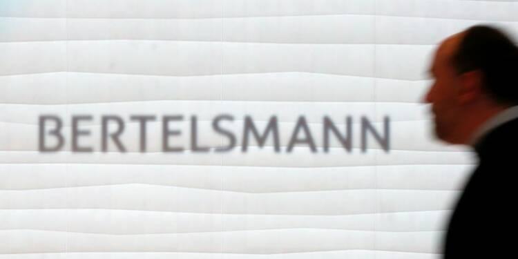 Les résultats de Bertelsmann en hausse au premier semestre