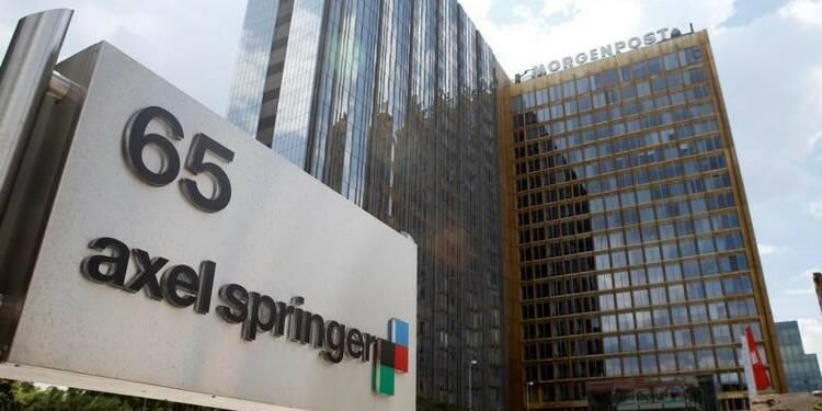 Le bénéfice brut 2016 d'Axel Springer supérieur aux attentes