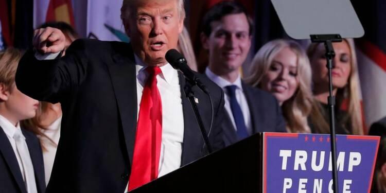 Réactions en France à la victoire de Donald Trump aux Etats-Unis