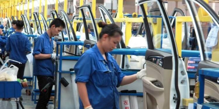 En Chine, la croissance manufacturière ralentit