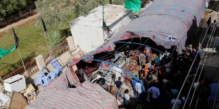Au moins 41 personnes tuées à Bagdad par un kamikaze