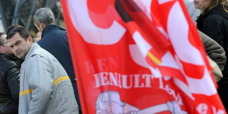 """Embauches chez Renault: """"le compte n'y est pas"""", selon la CGT"""