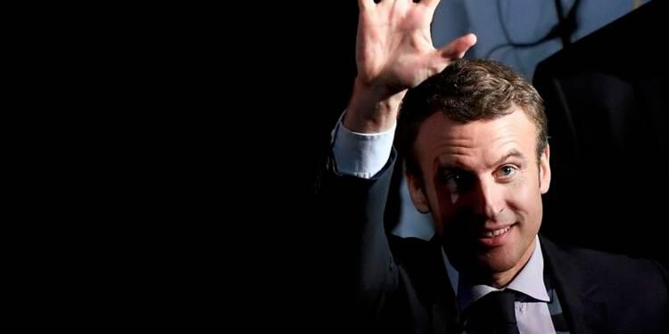 Léger avantage pour Macron devant Fillon, derrière Le Pen, selon un sondage Ifop
