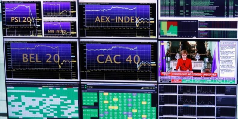 La Bourse de Paris finit en nette hausse sur fond d'accalmie bancaire
