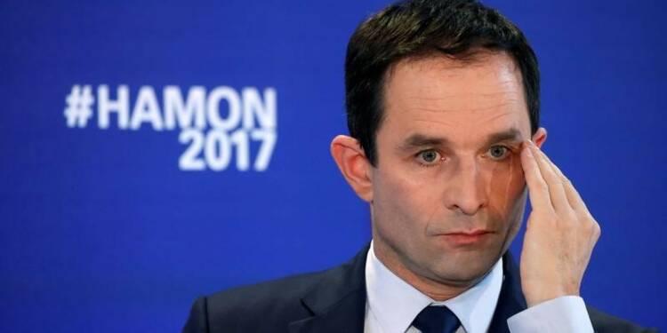 Hamon installe un duel à distance avec Macron